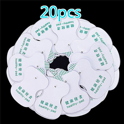 20 Pcs  Electrode Pads For Tens Acupuncture Digital Therapy Massager HotATAU