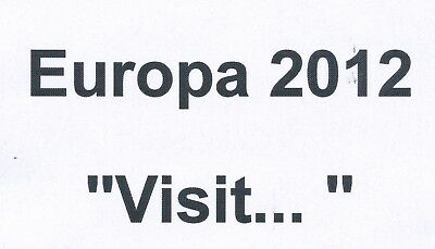 2012 EUROPA CEPT - each available to buy seperately