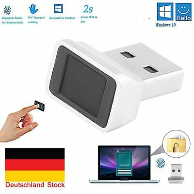 Smart USB Fingerprint Unlock Scanner Sensor Reader Dongle für Windows 10 Laptop