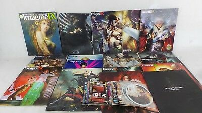 Job Lot of ImagineFX Magazines and DVDs