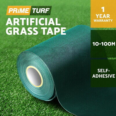 Primeturf Self Adhesive Synthetic Turf Artificial Grass Joining Tape Glue Peel