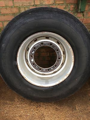 Super Single10 stud rims for agricultural trailers 15 R 22.5