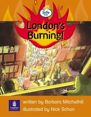 Info Trail Emergent Stage The Great Fire of London... by Coles, Martin Paperback