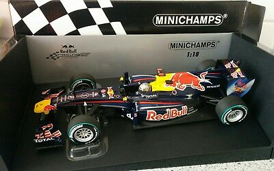RedBull RB6 Sebastian Vettel Abu Dhabi 2010 World Champion 1/18 TOP Rare