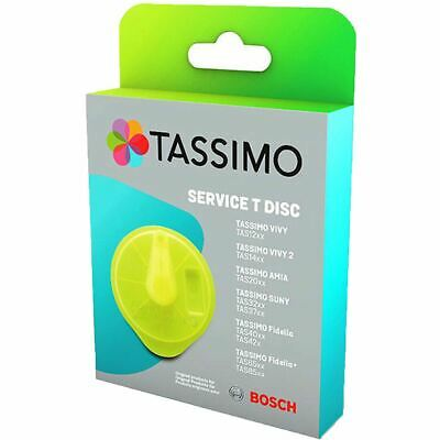 Genuine Tassimo Bosch Braun Replacement Cleaning Descaling Service T Disc 611632