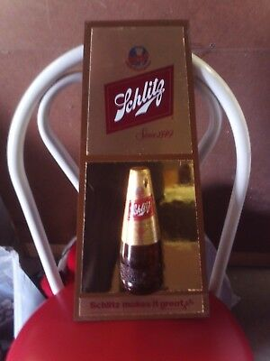 Vintage 1979 Schlitz Brewing Co Schlitz Makes It Greater Since 1849 Plastic Wall