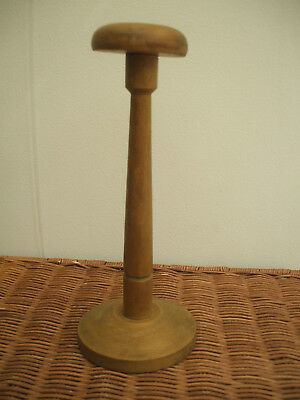 Vintage French Wooden Hat-Stand