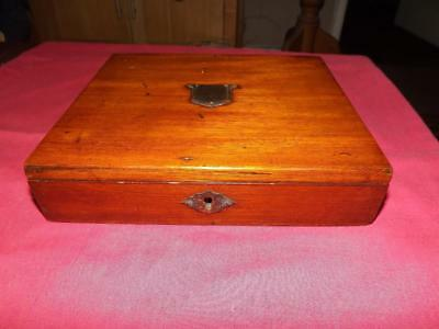 Antique Small Traveling Writing Box