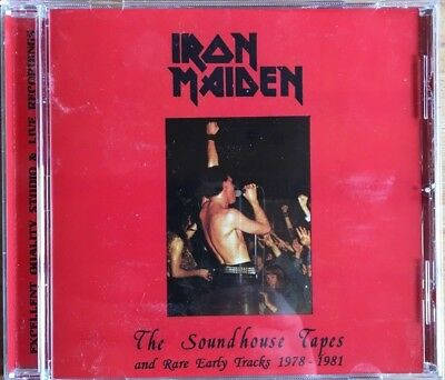"""Iron Maiden """"the Soundhouse Tapes And Rare Early Tracks 1978-1981"""" Rare Cd Neuf"""