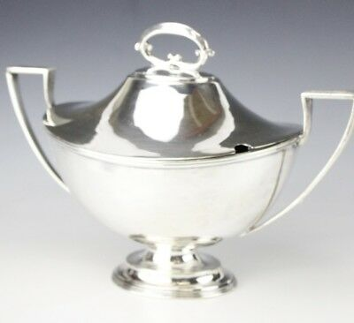 Vintage Piccadilly Restaurant Silver Plated Double Handled Soup Tureen NR EDP