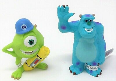 Bullyland Monsters Inc University Mike and Sulley Disney Figure Toy