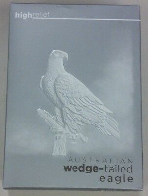 Australian Wedge-tailed Eagle 2016 High Relief Silver Proof Coin