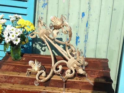 Large Antique French Style Chandelier By Dar Lighting Salvaged / Reclaimed Chic