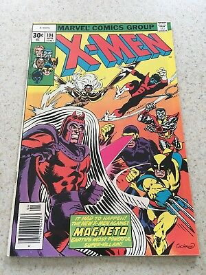 Uncanny X-men 104  VF/NM  9.0  High Grade  Magneto  Wolverine  Phoenix  Cyclops