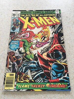Uncanny X-men 105  VF/NM  9.0  High Grade  Firelord  Wolverine  Phoenix  Cyclops