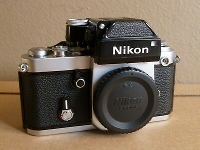 Nikon F2 Camera With Working Dp-1 Photomic Finder