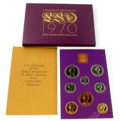 1970 United Kingdom Proof Set in Original Government Packaging