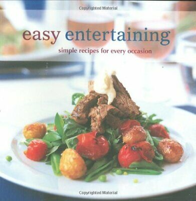 Easy Entertaining by Ashman, Sharon Paperback Book The Cheap Fast Free Post