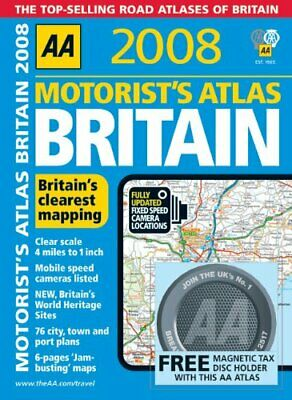Motorists Atlas Britain (AA Atlases) by AA Publishing Spiral bound Book The