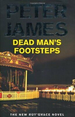 Dead Man's Footsteps by James, Peter Hardback Book The Cheap Fast Free Post