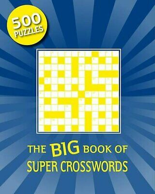 Ultimate Trivia: Cross Word (Puzzles) Spiral bound Book The Cheap Fast Free Post