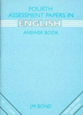 English: 4th Year Papers: Assessment Papers by Bond, J. M. Paperback Book The