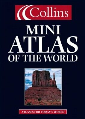 Collins Mini Atlas of The World (World Atlas) Hardback Book The Cheap Fast Free
