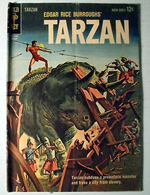 Edgar Rice Burroughs Tarzan #133 Silver Age Gold Key Comic Book 1963 FN-
