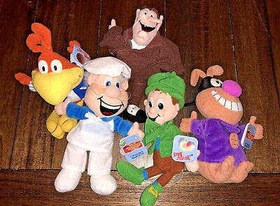 General Mills Breakfast Babies Lot of 5 Vintage 1997 Breakfast Mascots