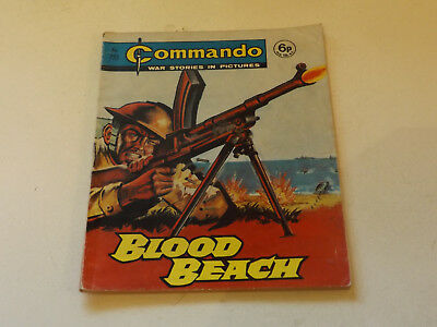 Commando War Comic Number 723!!,1973 Issue,good For Age,45 Years Old,v Rare.