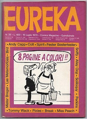 EUREKA N.35 editoriale corno 1970 alley oop don martin l'osservatore the watcher