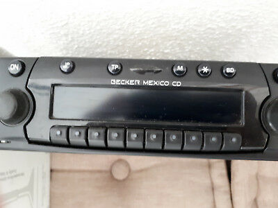 w124 Becker mexico cd autoradio