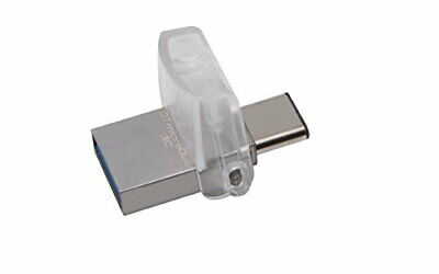 Kingston DataTraveler 32 GB Micro Duo Type C USB 3.1 Gen 1/USB 3.0 Flash Drive