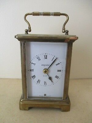 Old French Brass Carriage Clock Case For Parts