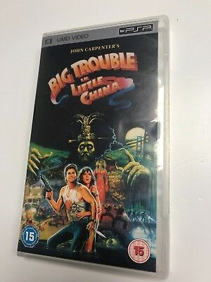 * Sony PSP TV SERIES * BIG TROUBLE IN LITTLE CHINA * UMD