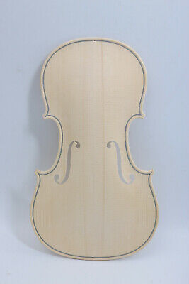 1pcs Unfinished Violin Top 4/4 Russian Spruce Hand made Violin Accessories