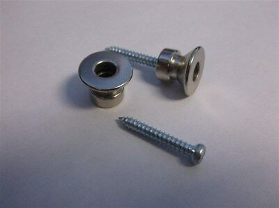 NEW - Buttons For Dunlop Traditional Strap Lock System - NICKEL, SLS2511N