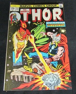 Thor #232 (1974) Marvel High Grade Early Firelord NM 9.2-9.4 CO731