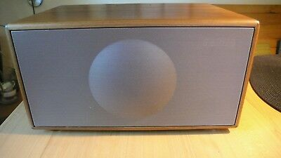 "Geneva Sound System ""model M""  Cd + Iphone-Ipod Dock"" Farbe: Walnuss Holz Hifi"