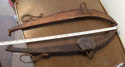 "20"" Set of Antique/vintage horse harness Hames vintage farm barn horse decor"