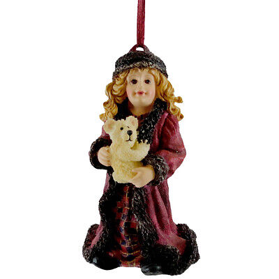 Boyds Bears Resin LARA MOSCOW AT MIDNIGHT ORNAMENT Christmas Dollstone 25859