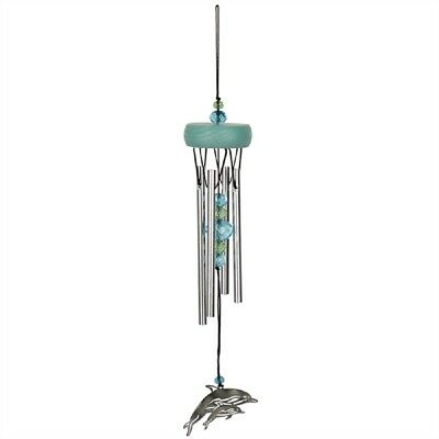 Woodstock Fantasy Dolphin Wind Chime Outdoor Garden Windchimes Decoration WCFD