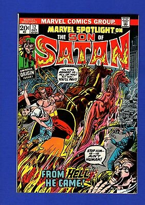 Marvel Spotlight #12 Nm 9.4 Glossy Bronze Age Marvel Key 2Nd Son Of Satan