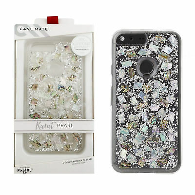 """Case Mate Karat Pearl Case for Google Pixel XL 5.5"""" Mother of Pearl NEW"""