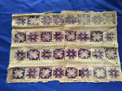 Early 19th Century Old Antique Needlework Piece