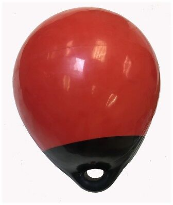 """KUFA  Red/black 15"""" Diameter (Inflated Size: 15"""" x 25"""") Mark Buoy A30"""