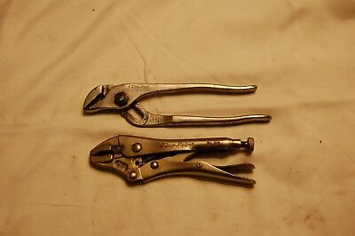 """Blue-Point Small 6"""" Adjustable Pliers and 5"""" Locking Pliers"""