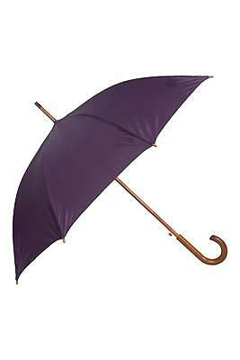 Mountain Warehouse Umbrellas with Wooden Curved Handle - 89 x 11cm