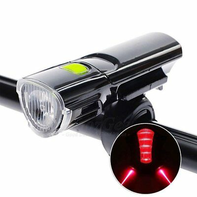 Cycling Bicycle LED Lamp MTB Bike Head Front Light Or Laser Rear Lamp Torch