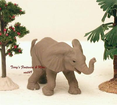 """Baby Elephant Animal Figure For Use With Fontanini 2.5""""-5"""" Series Figures New"""
